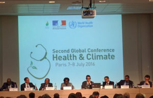 Second Global Conference Health and Climate