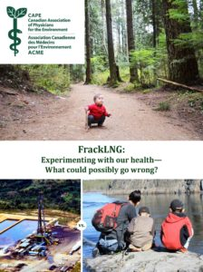 FrackLNG: Expermenting with our health - What could possibly go wrong?