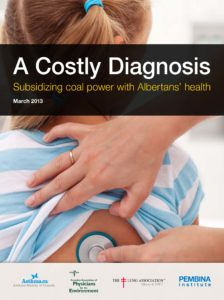 A costly diagnosis - subsidizing coal power with Albertan's health