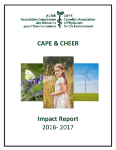 CAPE and CHEER Impact Report 2016-2017