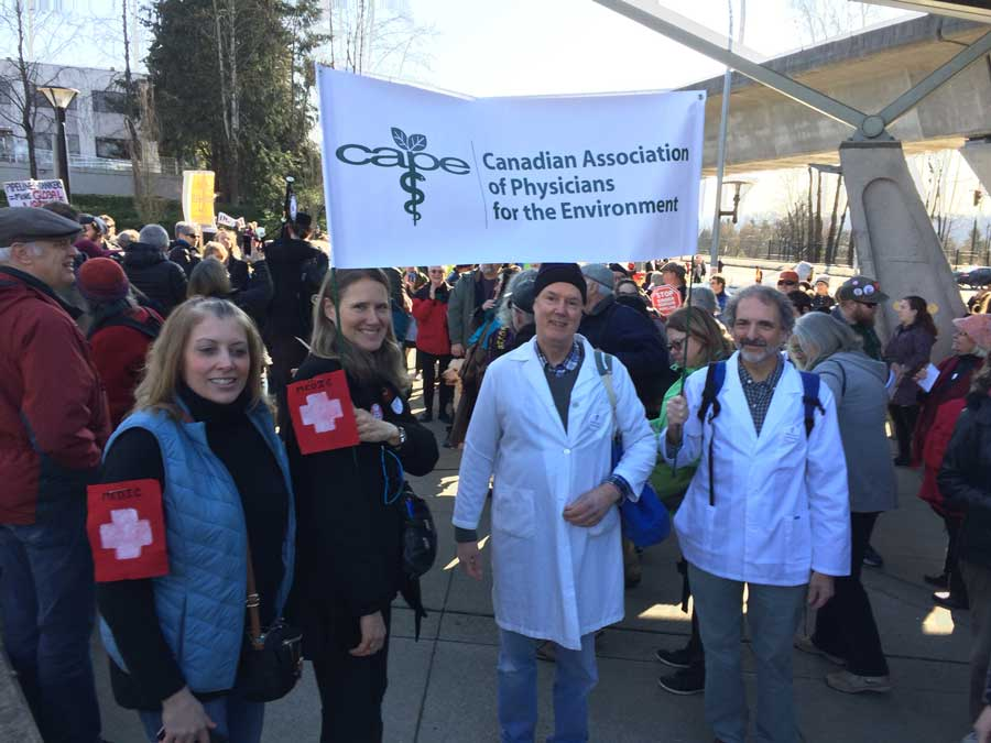 Kinder Morgan Canadian Association of Physicians for the Environment British Columbia - CAPE BC