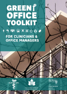 CAPE Office Toolkit for Clinicians and Office Managers Sustainable Canadian Healthcare