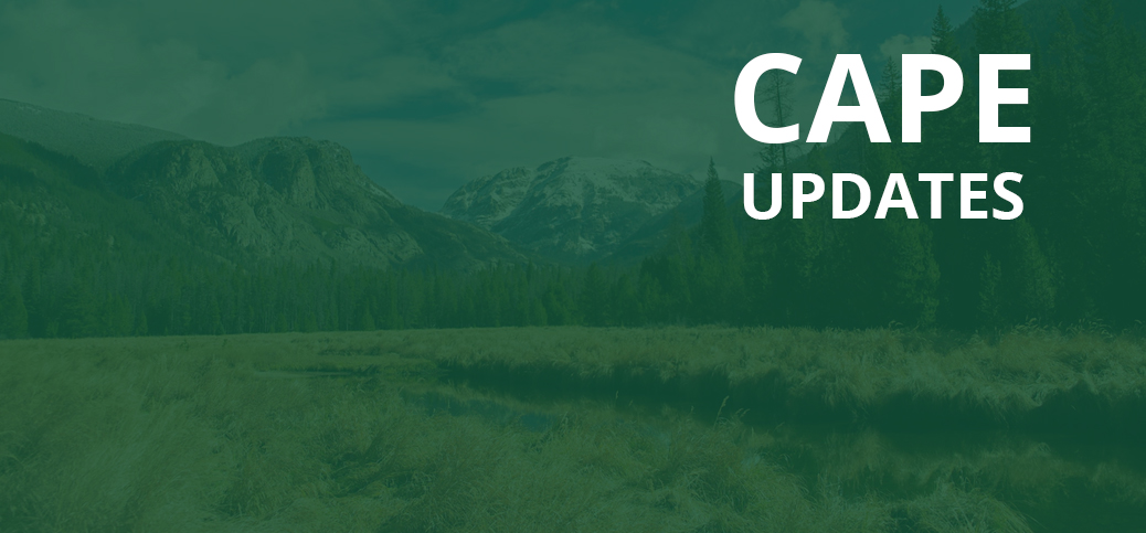 Want to learn more? Check out CAPE updates!