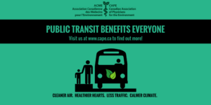 Public Transit Benefits Everyone Clean Air Healthy Climate CAPE