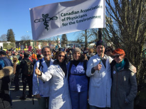 Canadian Association of Physicians for the Environment against Kinder Morgan's oil pipeline expansion