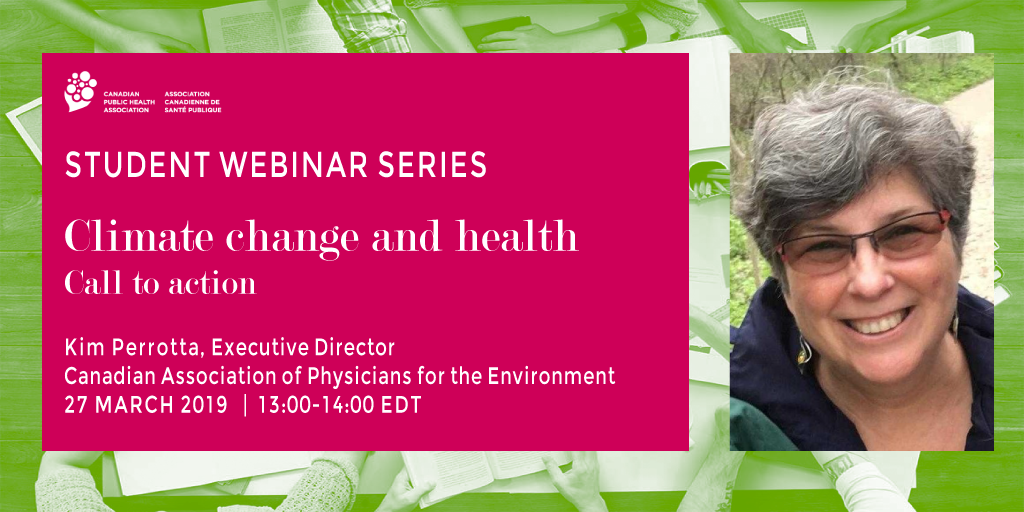 Webinar: Call to action on climate change and health